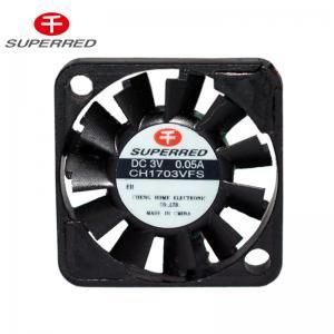 Buy cheap Plastic LCP 94V0 CH1703VFS 17x3mm PWM Cooling Fan product