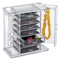 Buy cheap clear acrylic cosmetic makeup organizer drawer for storage product