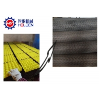 China Paper Pulp Molding Coal 6x12 158kw Egg Tray Drying Line on sale