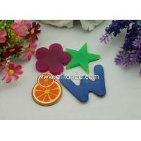Buy cheap Cheap single color blue green red color alphabet star flower different kinds of shape fridge magnets for promotion product