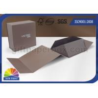Buy cheap Logo Printing Art Paper Gift / Watch Packaging Boxes , Foldable Packaging Paper Box product