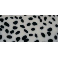 Buy cheap 100% Polyeter dot print Flannel Fleece product