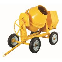 Electric Motor 4 Wheels Portable Concrete Mixers For