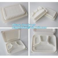 Buy cheap blister packaging Packaging Tray, airline fast food trays with handle, cornstarch food trays product