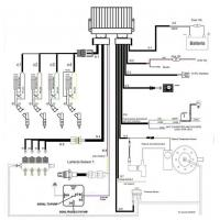 lpg cng ecu for bi-fuel system on 3/4 cylinders sequential ... lpg engine diagram engine diagram for 3 1 engine
