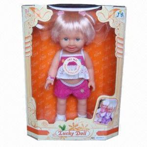 Buy cheap Кукла ПВК 3Д девушек с ИКТИ приветствованным Марк, заказами ОЭМ product