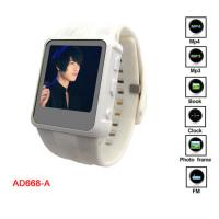 Buy cheap Mulit - Languages MP4 Player Watch With JPEG, BMP, GIF Photo Format Browsing product