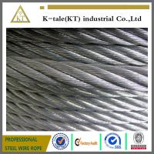 Buy cheap ЦВЕТ 7x19+IWSC веревочек стального провода product