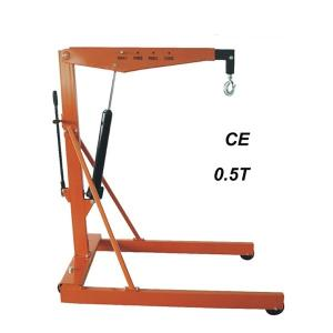 Buy cheap 1 Pump Red Pallet Heavy Duty 0.5Ton Engine Hoist And Stand product