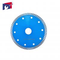 Buy cheap Blue Color Small Circular Saw Blades Turbo Style 5/8