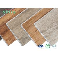 China Indoor SPC Flooring Vinyl Laminate Plank Flooring With Customrized Decoration Layer on sale