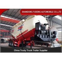 Quality 3 axles Dry Bulk Trailer Powder Cement Tanker Semi Trailer With 25ton-40ton for sale