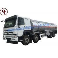 China Stainless Steel Water 30000L 8x4 Oil Tank Trailer on sale