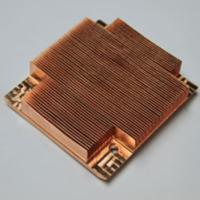 Buy cheap OEM copper stacked pin fin heat sink product