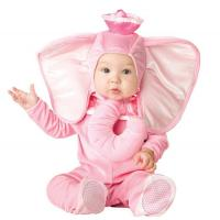 Buy cheap Pink Elephant Newborn Girl Halloween Costumes Jumpsuit 0-24 Months product
