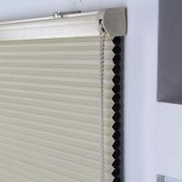 Buy cheap 25mm honeycomb blinds blackout fabric cellular shade manual chain control product