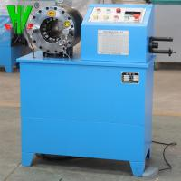 Buy cheap Hydraulic hose crimping machine for sale 1/4''-2'' hose pipe making machine product