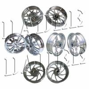 Jante de roue de Chrome (hub) pour le scooter et la moto
