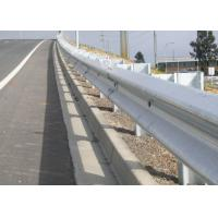 Buy cheap Professional Highway Guard Rail With CE / ISO9000 Certificate Corrosion Resistant product