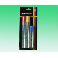Buy cheap Non toxic Liquid Stationery Glue for Photo / Fabric Paper , Black Card product