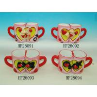 Buy cheap Household Cool Funny Couples Coffee Mug Sets , Love Mugs Couple Heart Mugs product