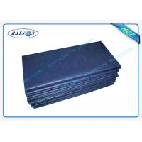 China Eco - Friendly SS Non Woven Disposable Bed Sheet For Patient Bed / Beauty Salon on sale