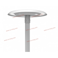 Buy cheap Hydrophobic 160LM/W Led Post Top Lamp 80W Post Top Lantern Lights product