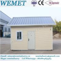 Hot sale prebabricated container house with pvc exterior wall cladding and insulation panel