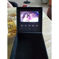 Buy cheap Customized Promotional Lcd Video Gift Box Video Brochure Box 300-2000Mah Battery product