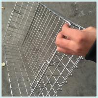 stainless steel metal disinfecting wire mesh basket,crimped weave sterilize filter baskets for medical