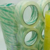 Buy cheap China manufacturer BOPP material Rolls Heavy Duty Packing Sticky Sealing Tape 48m 90m product