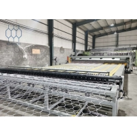 Buy cheap 100x120mm Automatic Gabion Production Line For 4500mm Width Gabion Mesh Sheet product