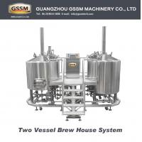 Buy cheap Beer Craft Brewing Equipment For Laboratory , Steam Heated 30 BBL Brewhouse 3mm from wholesalers