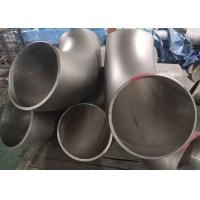 Buy cheap 90 Degree Stainless Steel Pipe Fittings , ASME B16.9 Stainless Steel Elbow Fittings product