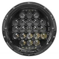 China 7 Inch 5D 105 W White LED Round Shaped Headlight Jeep LED Daytime Running Lights on sale