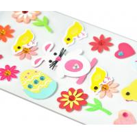 Acrylic Paper Jewel Stickers Rattit Chicken And Egg Lovely Design Handwork 3D