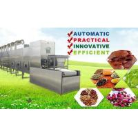 Buy cheap Tunnel Stainless Steel Microwave Drying Equipment Tea Leaf Drying Machine product