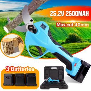 Buy cheap 40mm 경량 휴대용 전기 전정 가위 배터리 원예 전정 가위 product
