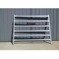 Buy cheap Heavy Duty Galvanized Cattle Yard Horse Fence Panel livestock panels product