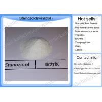 Buy cheap Anabolic steroid raw powder  bodybuilding Stanozolol Winstrol oral steroid for Bodybuilding CAS 10418-03-8 product