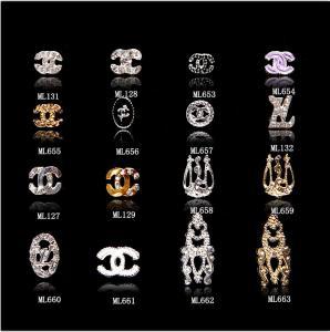 Buy cheap fatia G ML653-663 dos cristais de rocha do brilho da decoração da arte do prego da joia da liga do centímetro cúbico do logotipo do tipo 3D product