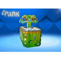 Buy cheap Double Players Hitting Frog Arcade Coin Machine / Redemption Game Machine product