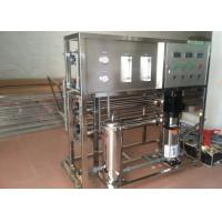 China Professional Sea Water Desalination Plant Stainless Steel Reverse Osmosis System 20M3 Per Day on sale