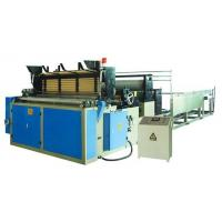 China Full automatic toilet paper rewinding machine on sale