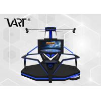 Buy cheap HTC VIVE 9D VR Simulator Infinite Space Walking Platform with Soccer / Base Ball from wholesalers