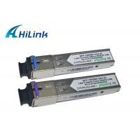 Buy cheap Metal Enclosure Simplex SFP Transceiver Module , Cisco Compatible SFP Modules product