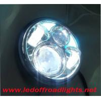 China 5 inch angel eye high/low beam 40W LED headlights,led headlamp,H13 harley fog light on sale