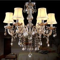 China Bedroom Kitchen Chandelier Novelty Lighting lustres de sala for home dacorate modern large crystal chandelier lamp light wholesale
