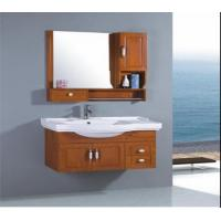 quality solid wood bathroom cabinet oak cabinet for sale