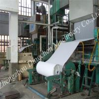 China 2400mm high speed toilet paper roll machine on sale